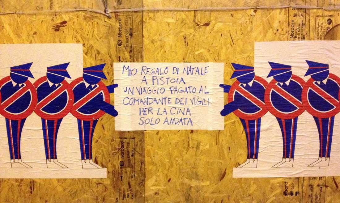 Уличный художник Клет Абрахэм