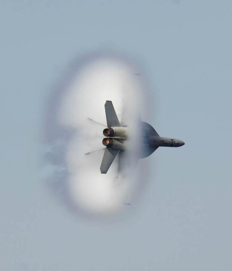 1281 30 лучших фотографий преодоления «звукового барьера» самолётами