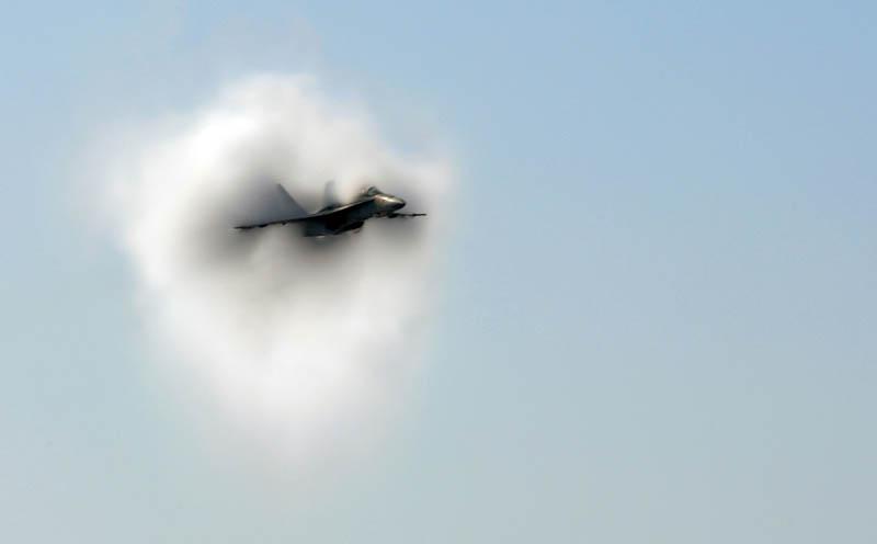 1282 30 лучших фотографий преодоления «звукового барьера» самолётами