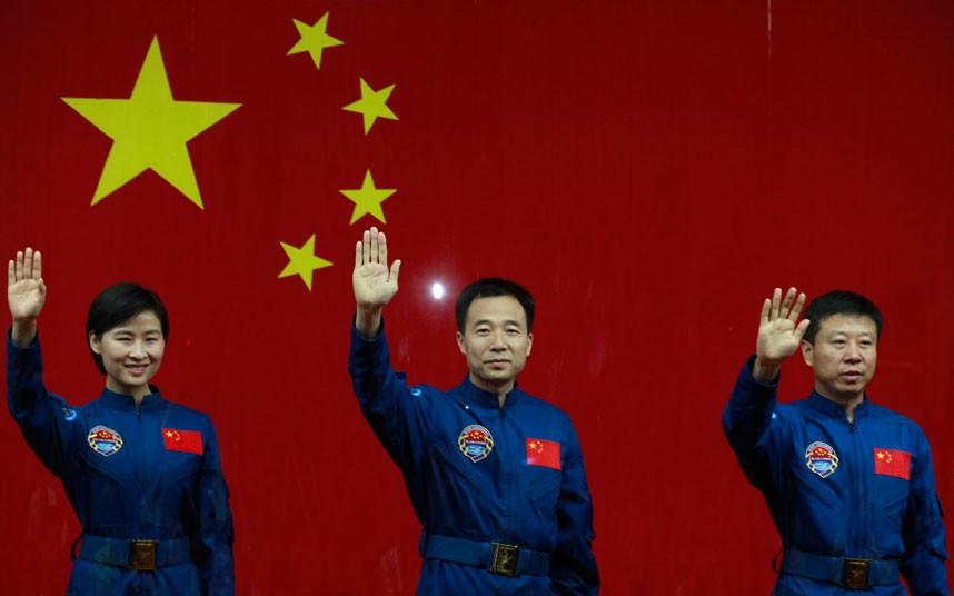 1289 Первая китайская женщина астронавт
