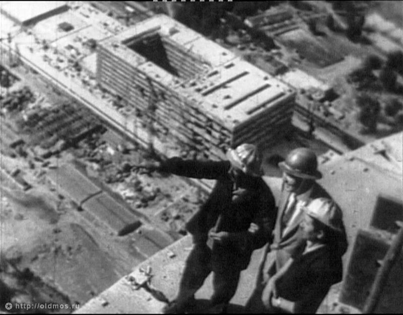 1336 18 кадров о том, как строили Останкинскую башню