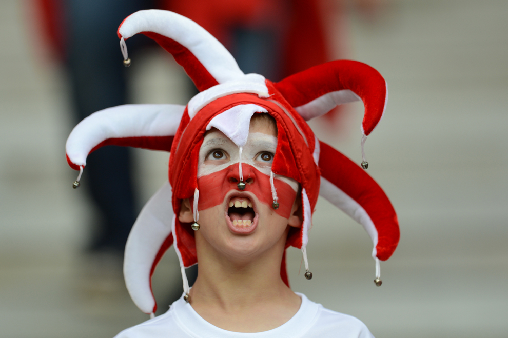1361 Евро 2012   фанаты