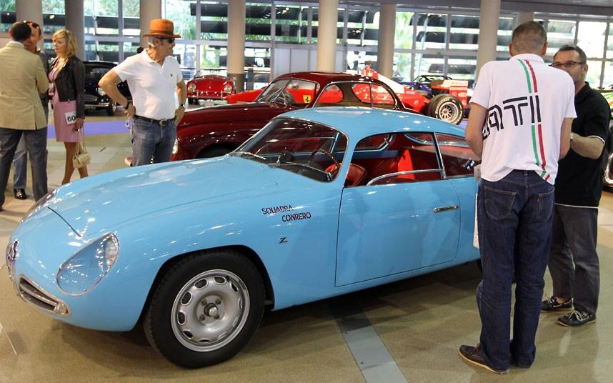 14 1958 Alfa Romeo Gi 2216025k Уникальные автомобили и суда на аукционе в Монако