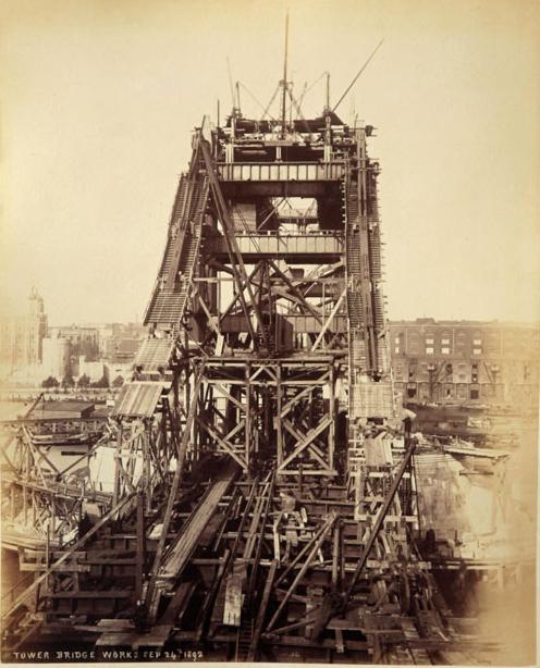 14 Как строился Тауэрский мост