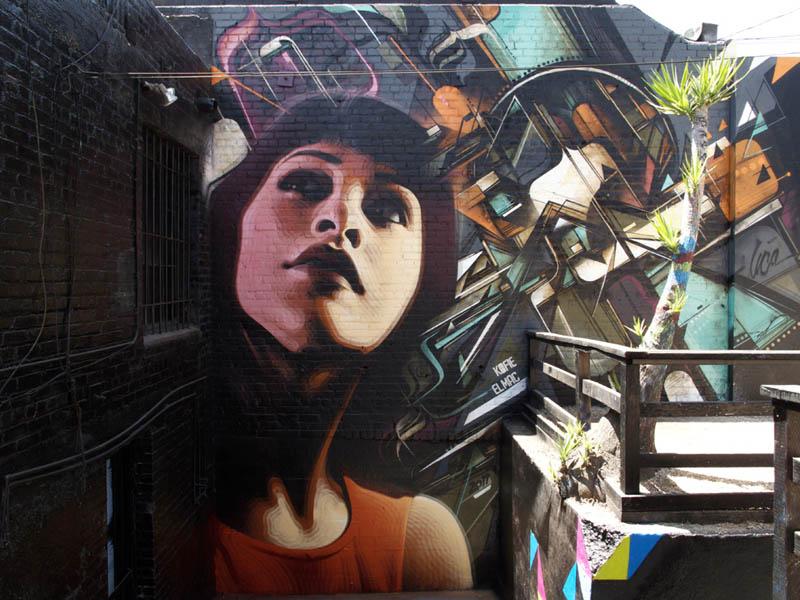 1404 Граффити от Эль Мак