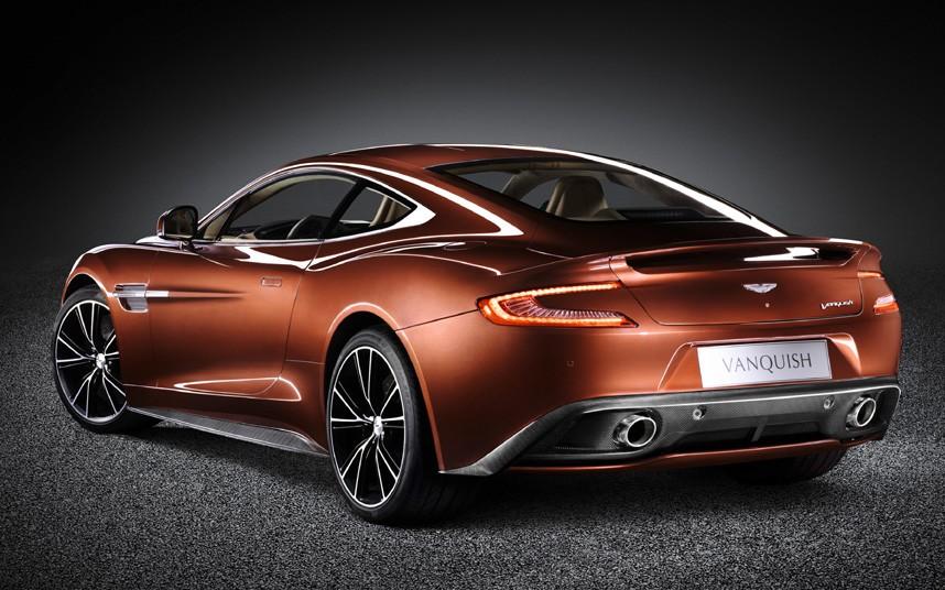 1407 Фотографии новейшего Aston Martin Vanquish