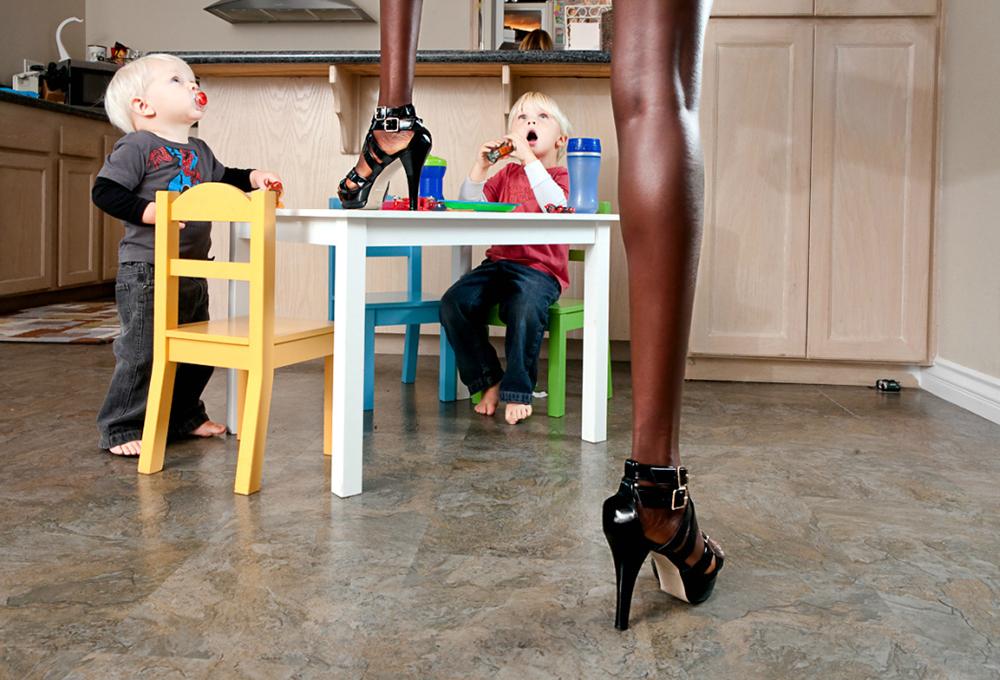 1421 Реклама и секс в работах фотографа Шона Дюфрена