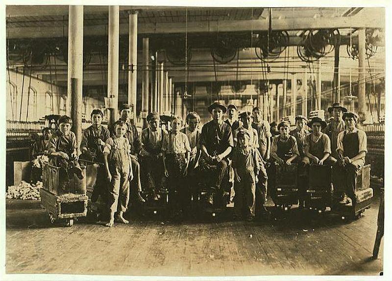 1457 Детский труд в истории