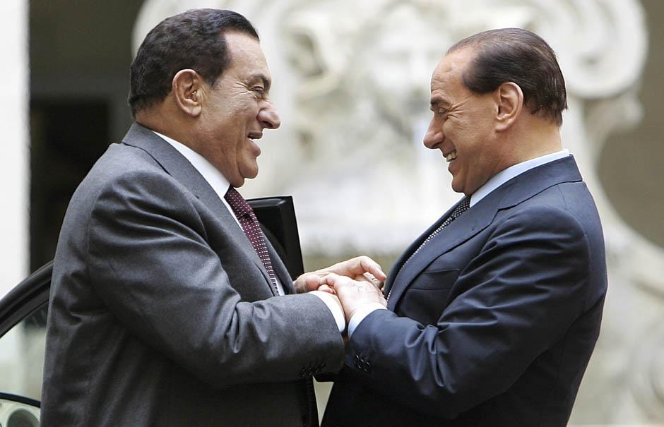1479 Жизнь Хосни Мубарака в фотографиях
