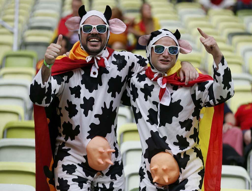 1508 Горячие фаны Евро 2012