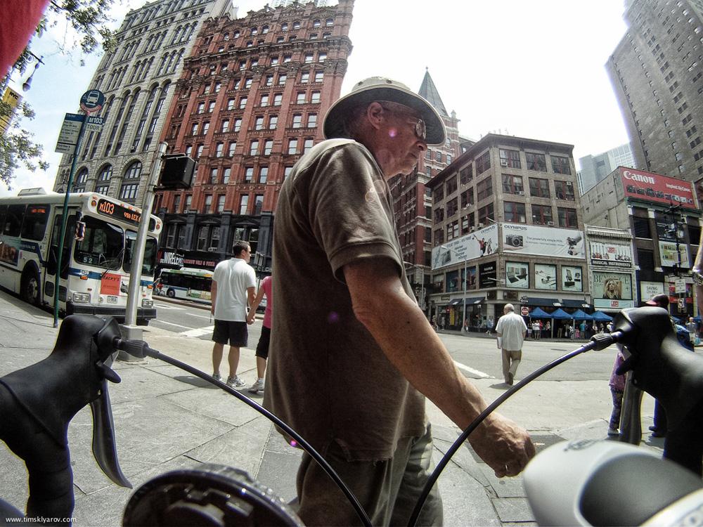 1518 Нью Йорк глазами дорожного велосипеда