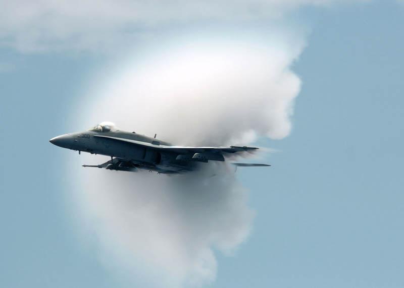 1560 30 лучших фотографий преодоления «звукового барьера» самолётами