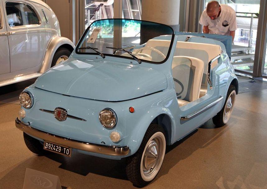 16 1969 Fiat 500 Mare 2216021k Уникальные автомобили и суда на аукционе в Монако