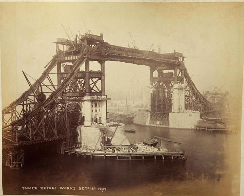 16 Как строился Тауэрский мост