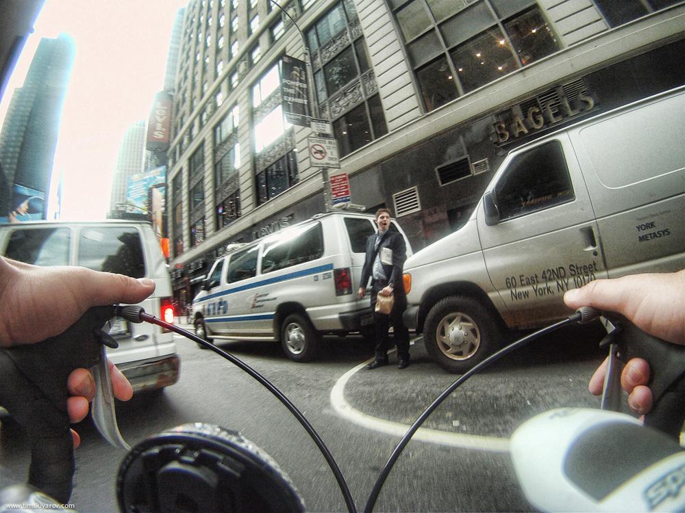 1618 Нью Йорк глазами дорожного велосипеда