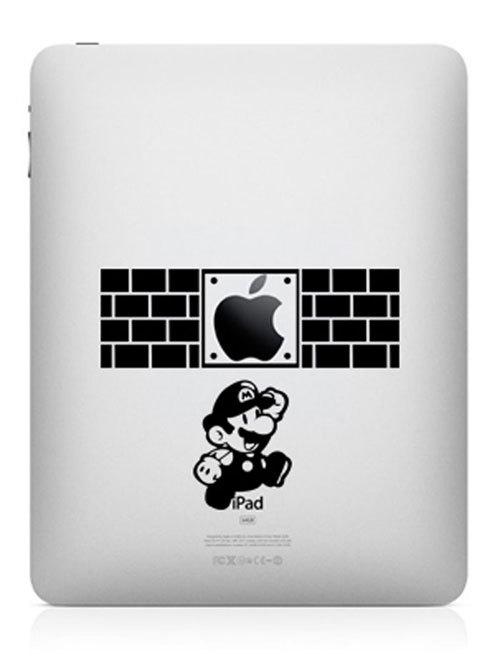 1622 33 креативных наклейки на ваш iPad