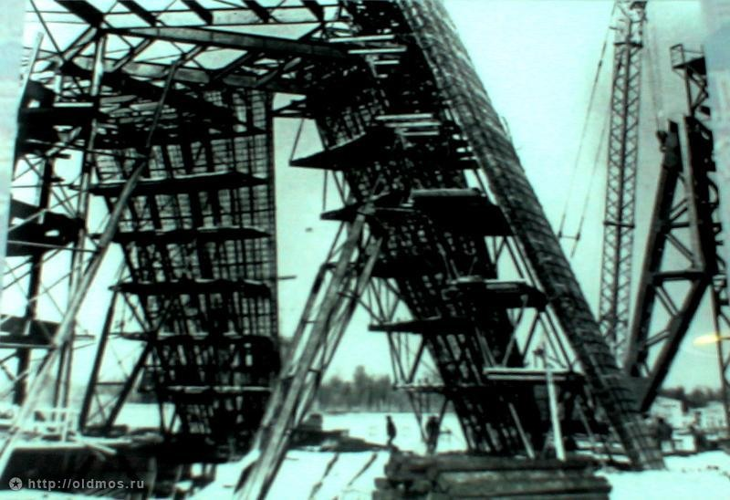 1629 18 кадров о том, как строили Останкинскую башню