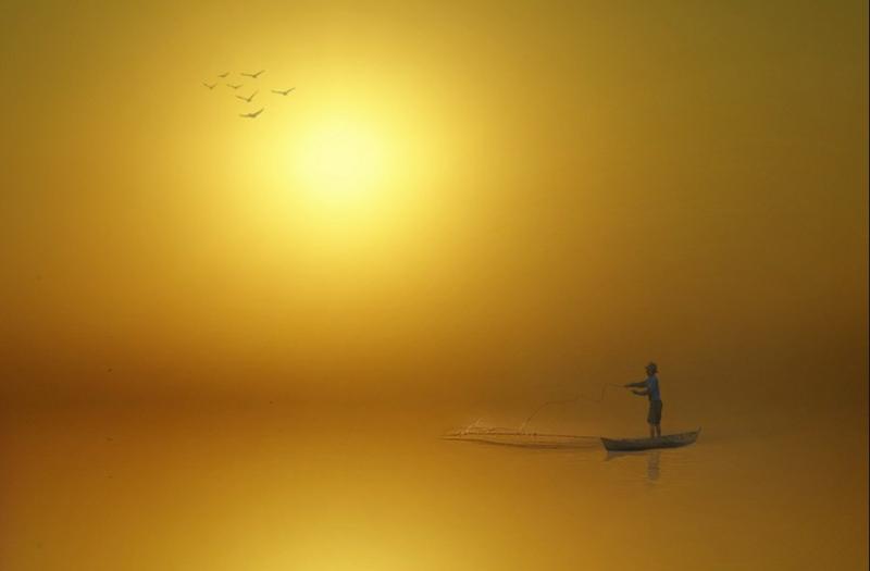 166 Солнечные силуэты в фотографиях Ирвинга Лубиса