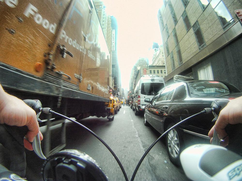 1717 Нью Йорк глазами дорожного велосипеда