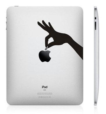 1721 33 креативных наклейки на ваш iPad