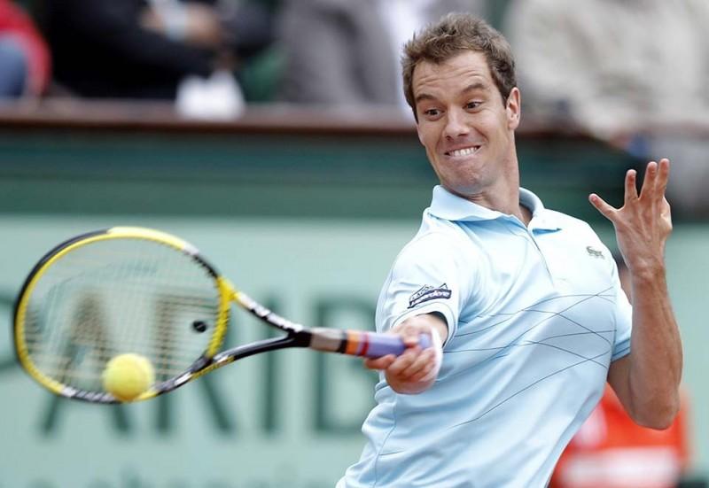 Смешные лица открытого теннисного турнира Ролан-Гаррос