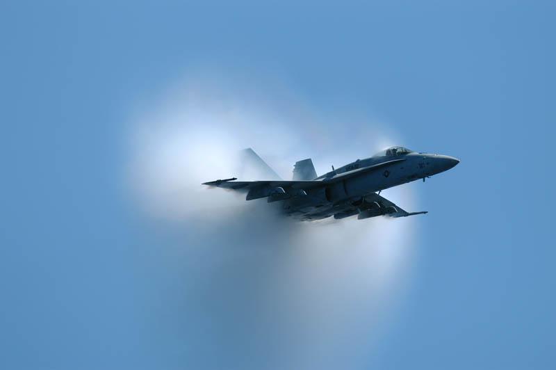 1757 30 лучших фотографий преодоления «звукового барьера» самолётами