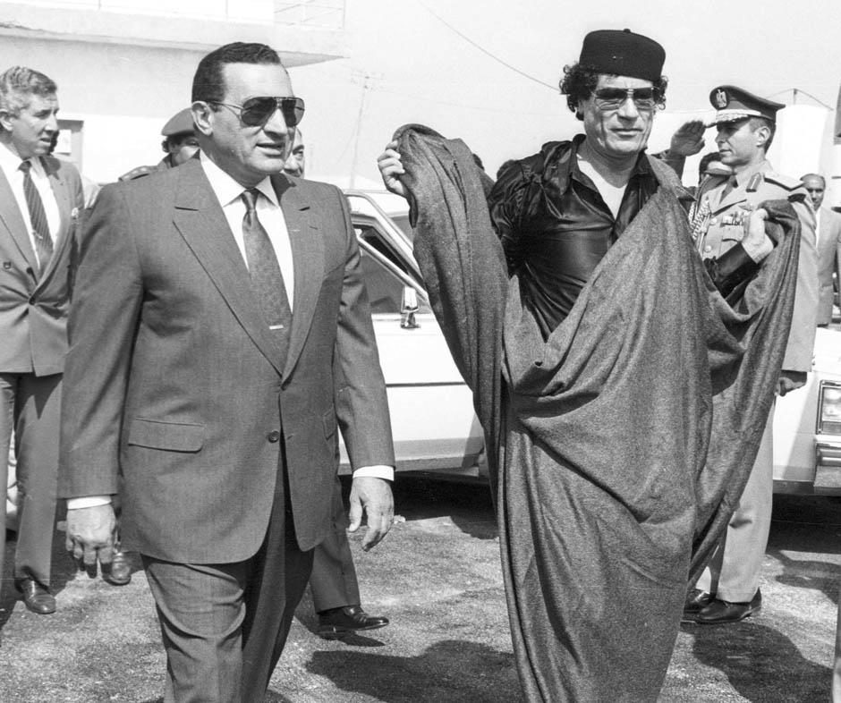 1771 Жизнь Хосни Мубарака в фотографиях