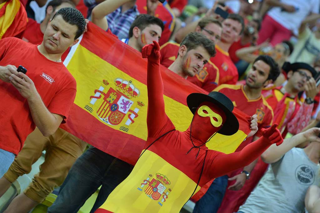 1789 Горячие фаны Евро 2012