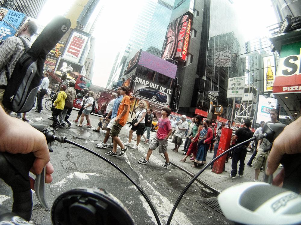 1817 Нью Йорк глазами дорожного велосипеда