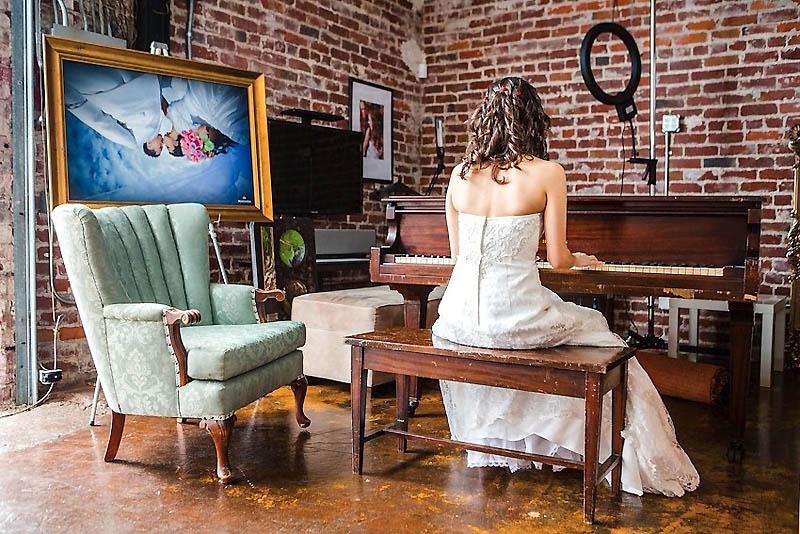 191 Свадьба в стиле игры Minecraft