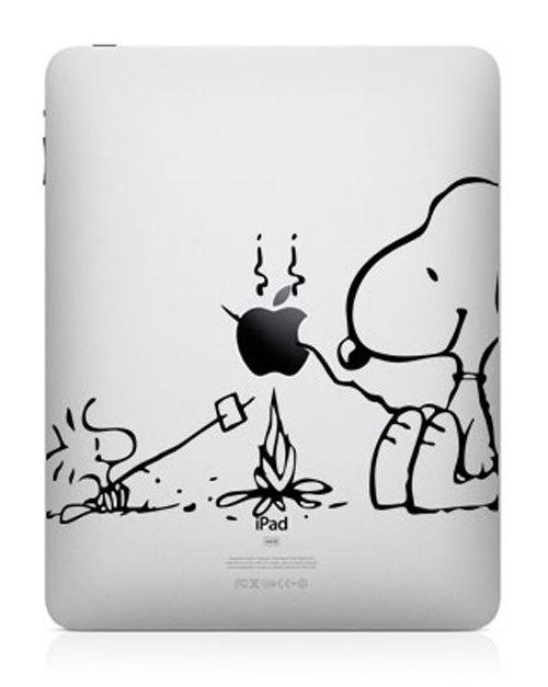 1919 33 креативных наклейки на ваш iPad