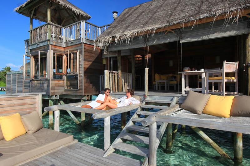 2 Удивительные домики отеля Soneva Gili на Мальдивах