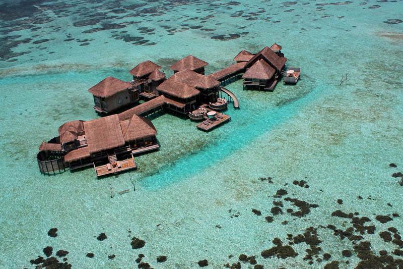 20 Удивительные домики отеля Soneva Gili на Мальдивах