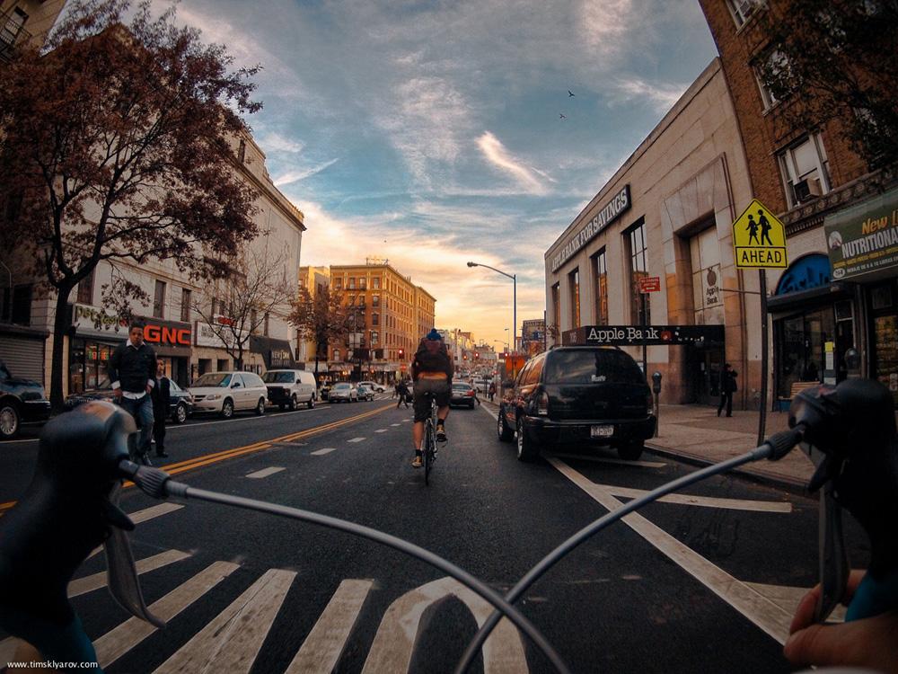 2100 Нью Йорк глазами дорожного велосипеда