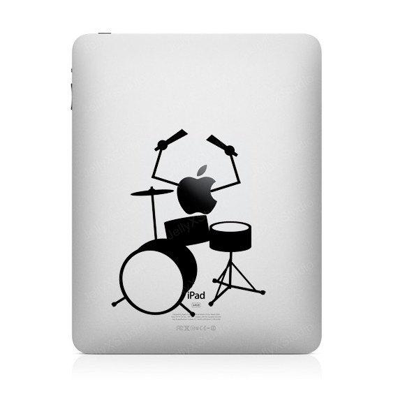 2105 33 креативных наклейки на ваш iPad