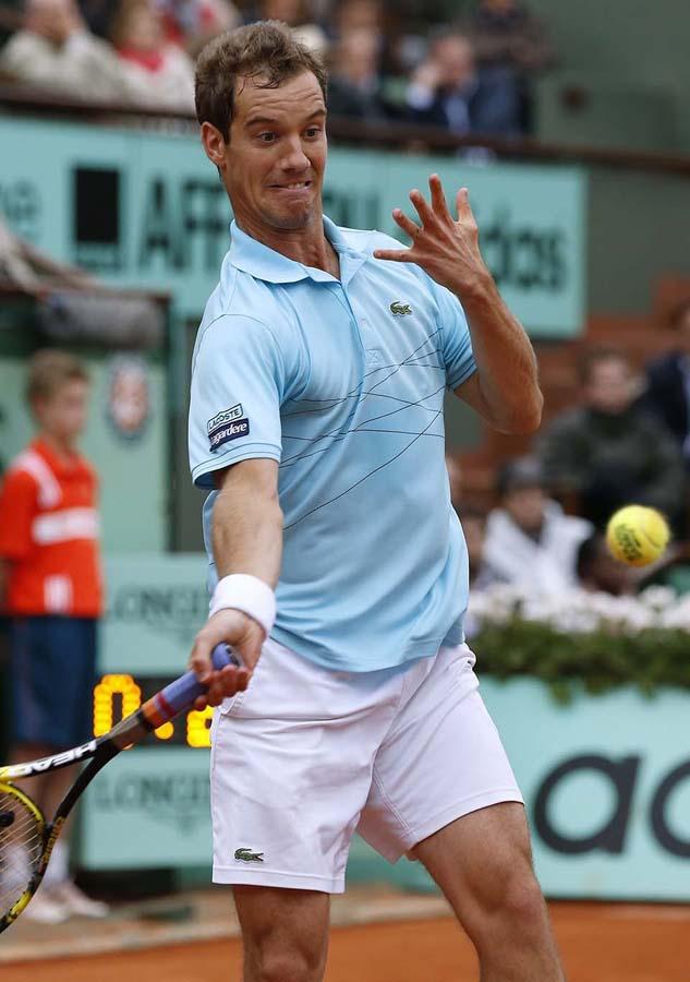 2107 Смешные лица открытого теннисного турнира Ролан Гаррос