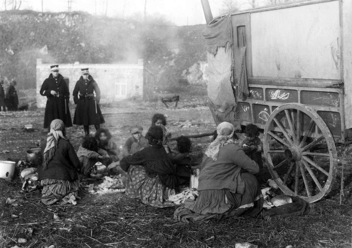 21107 Жизнь цыган в Европе до Второй Мировой войны