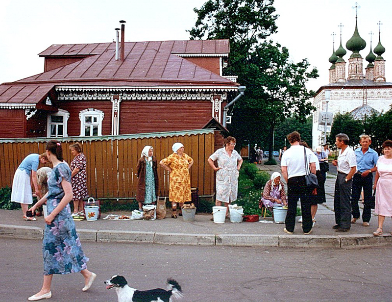 2111 Советский Союз 1989 года глазами американца
