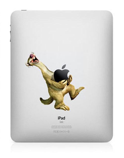 2123 33 креативных наклейки на ваш iPad