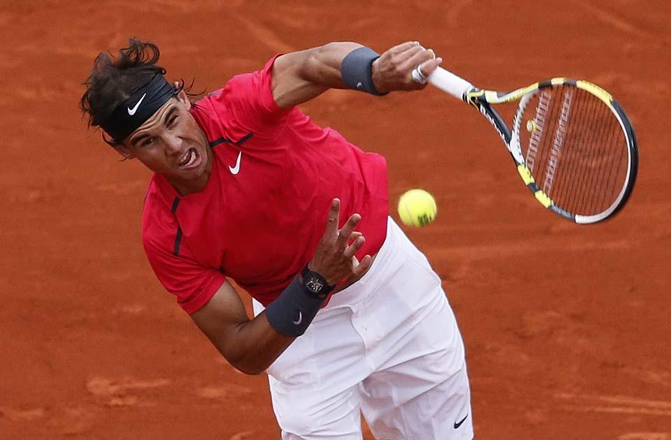 2126 Смешные лица открытого теннисного турнира Ролан Гаррос