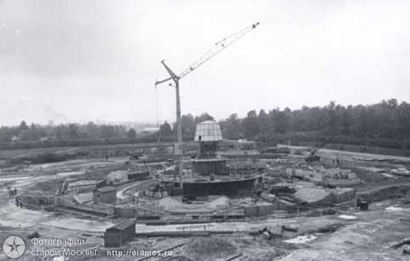 2131 18 кадров о том, как строили Останкинскую башню