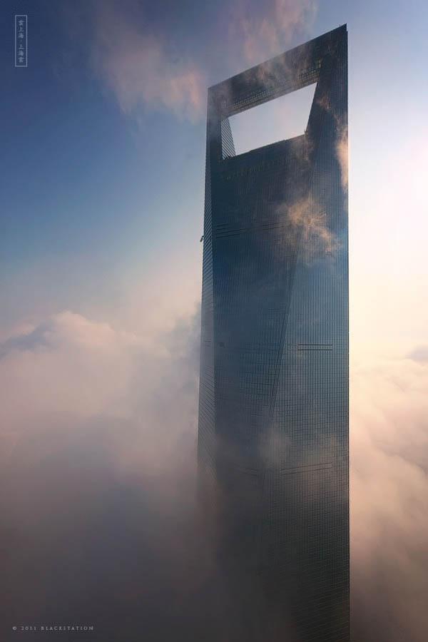 2173 Небоскребы Шанхая