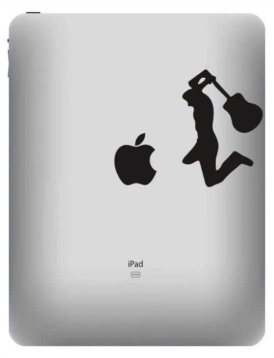 2219 33 креативных наклейки на ваш iPad