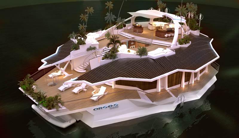 2303 Судно остров