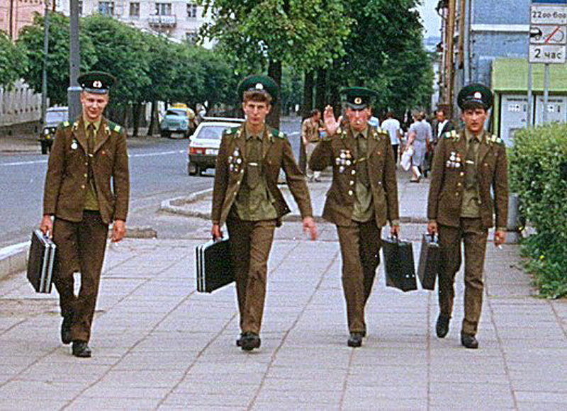 234 Советский Союз 1989 года глазами американца