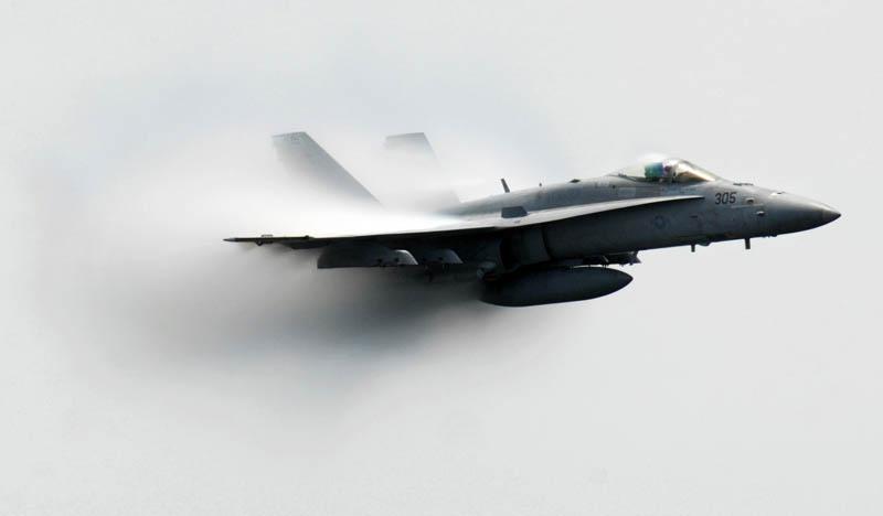 2341 30 лучших фотографий преодоления «звукового барьера» самолётами