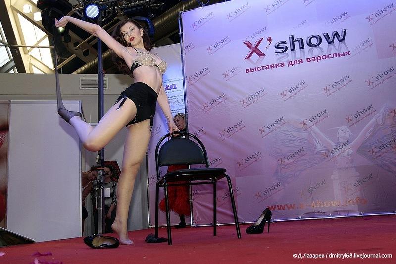 235 На выставке для взрослых «X'show 2012″ в Москве