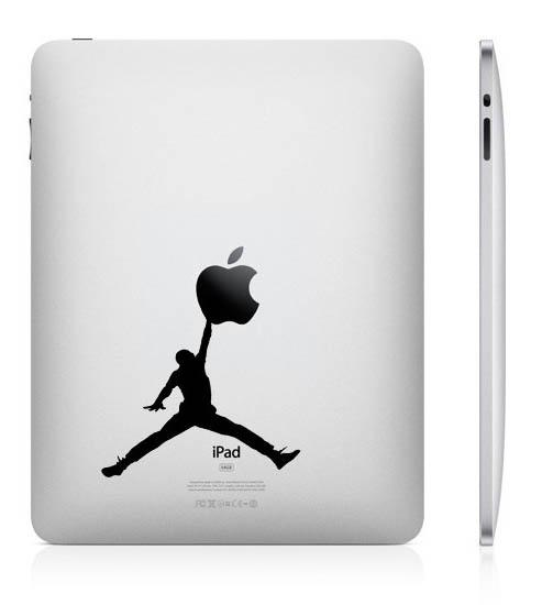 2416 33 креативных наклейки на ваш iPad