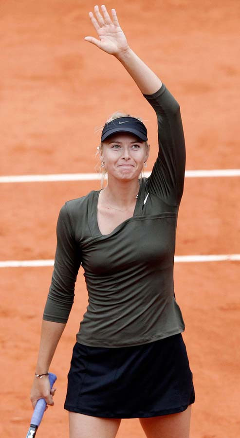 2418 Смешные лица открытого теннисного турнира Ролан Гаррос