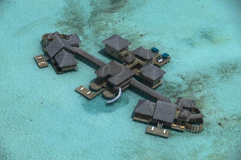 25 Удивительные домики отеля Soneva Gili на Мальдивах